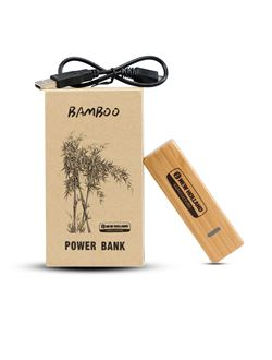 Picture of Emergency battery charger, wood