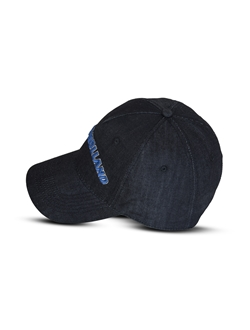 Picture of Baseball cap, eco-denim, blue
