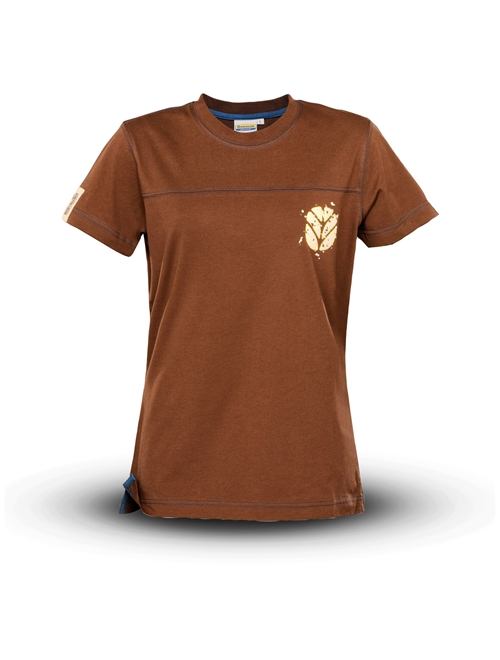 Picture of T-shirt, woman, brown