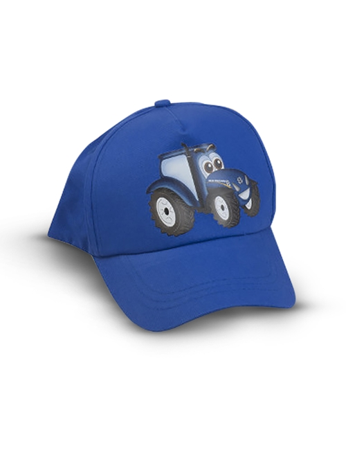 Picture of Cap, kids, tractor, blue
