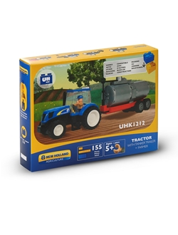 Picture of TRACTOR WITH TANK, BRICKS(155PC)
