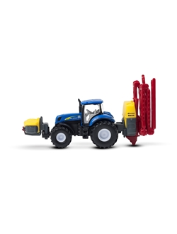 Picture of Tractor, T7070, Kverneland sprayer, 1:87