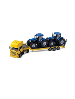 Picture of Truck with 2 tractors, 1:50