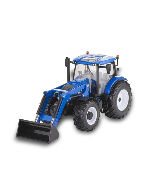 Picture of Tractor, T6.180 with front loader, 1:32