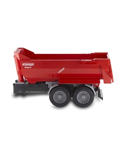 Picture of Krampe Tandem half pipe tipping trailer, 1:16