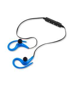 Picture of Wireless sport blue earbuds