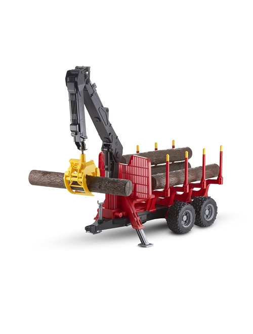 Picture of Forestry trailer with loading crane, 1:16