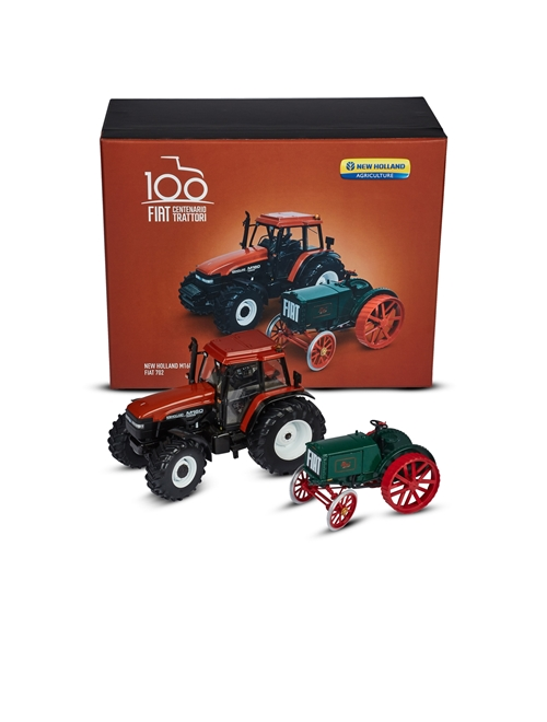 Picture of FIAT 702 + FIAT NEW HOLLAND M160 tractor pack, 1:32